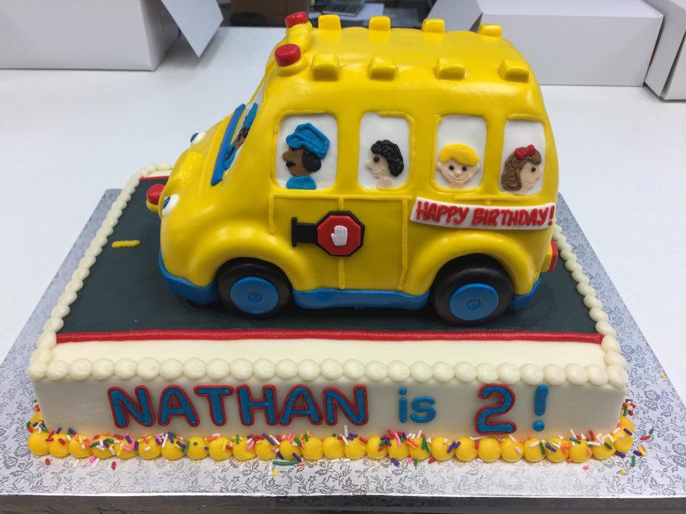 School Bus Birthday