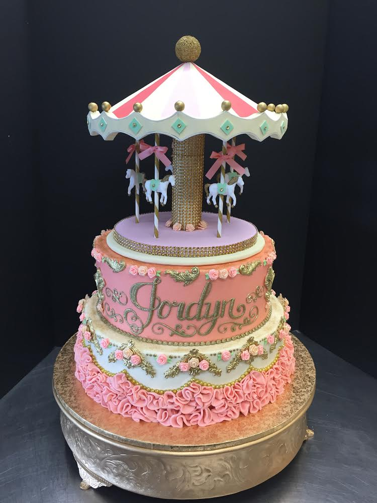 Carousel Specialty Birthday Cake