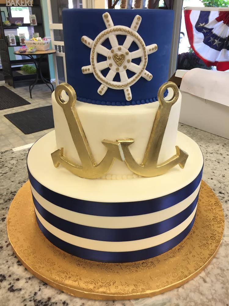 nautical themed bridal shower