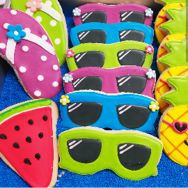 More Summertime Fun Cookies
