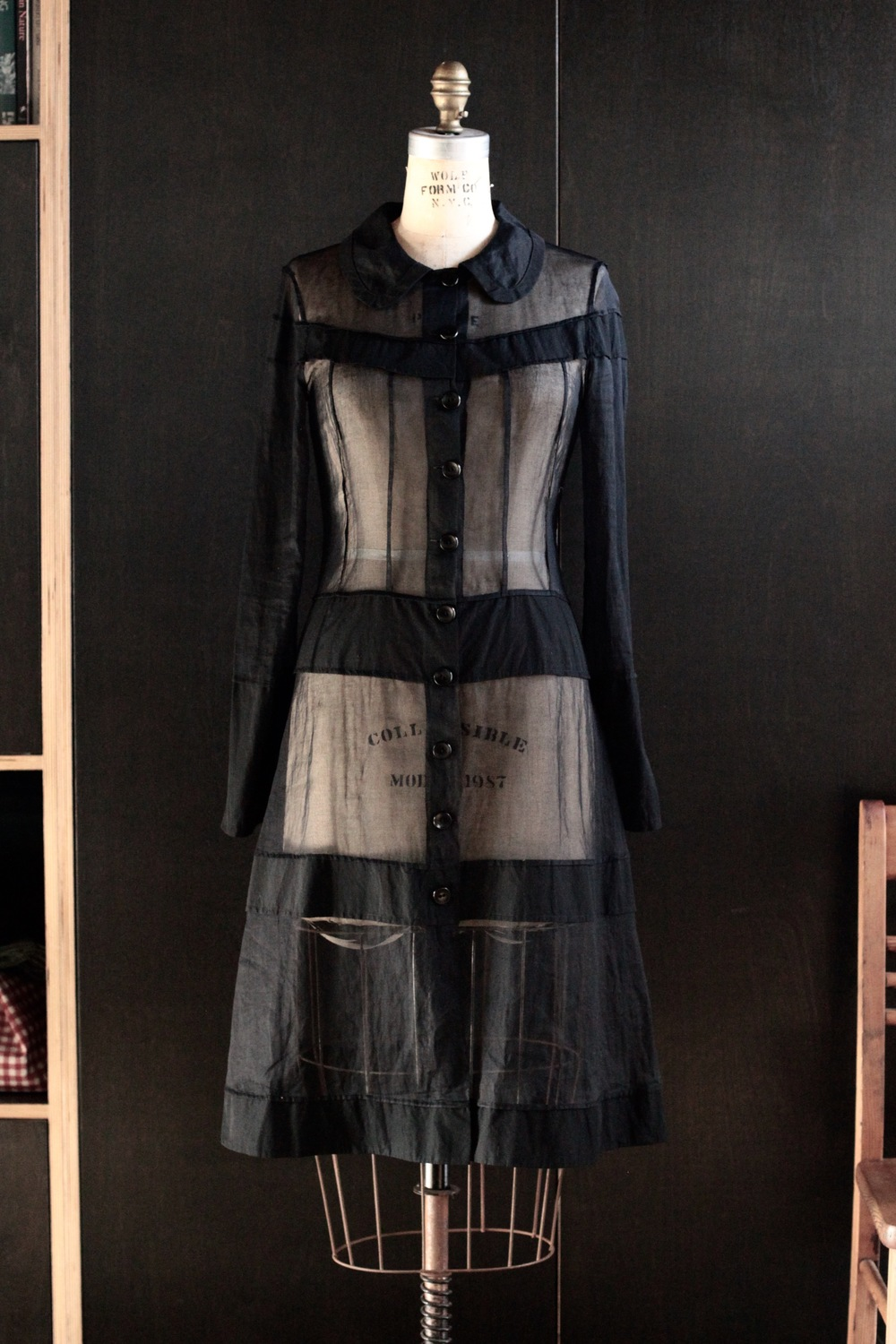 #4003 alchemy coat/organdy