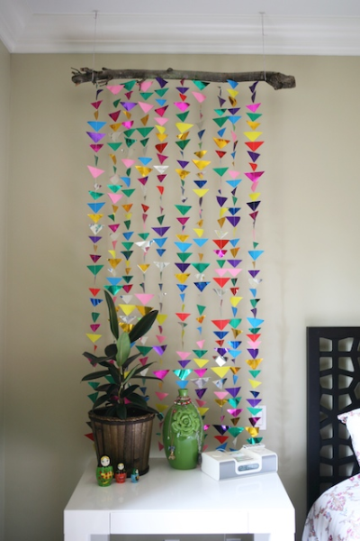 Hanging Triangle Garland My Life At Playtime