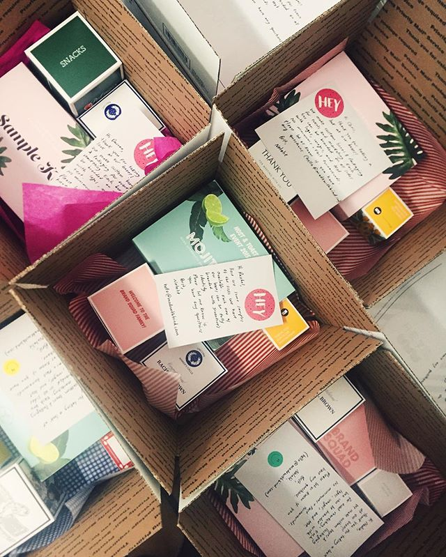 〰💕Boxes in boxes🌴🔹🍋 #giftbetter #custompackaging