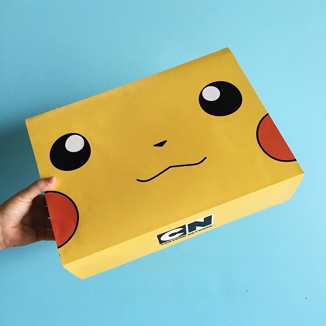 "This cutie! Branded boxes we made a few weeks ago for a brand activation by #Siincagency 📦name: Sweater box 📐dimensions: 15.75"" x 11.5"" x 4"""