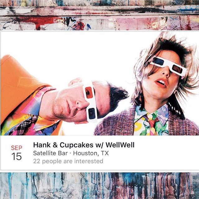 Tonight, FREE show with @hankandcupcakes at @satellitehtx!! #freeshow #nocover #livemusic #htx #tx