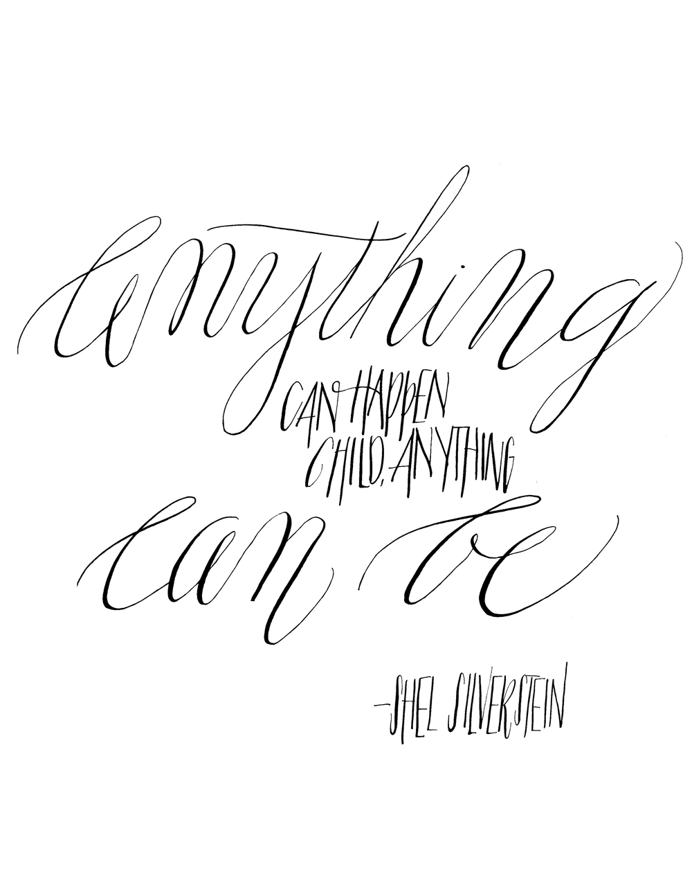 Anything can be.