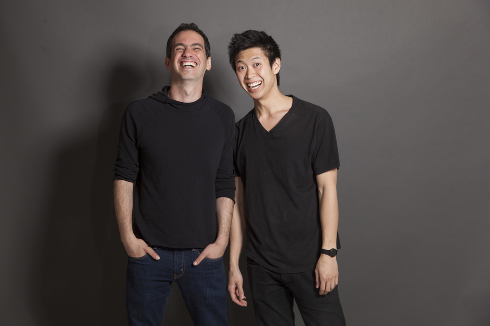 Alon Chitayat left - Jeff Ong right Creators of  'Subway Stories'