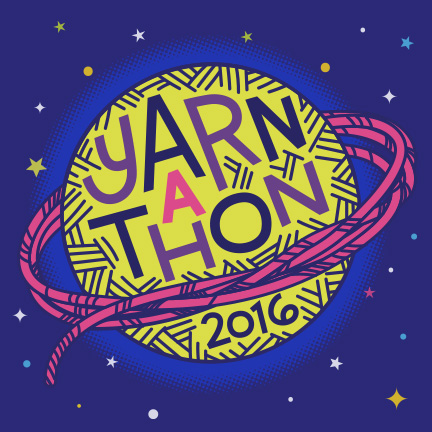 Yarnathon 2016   Design & Art for annual event at the Saint Louis Science Center