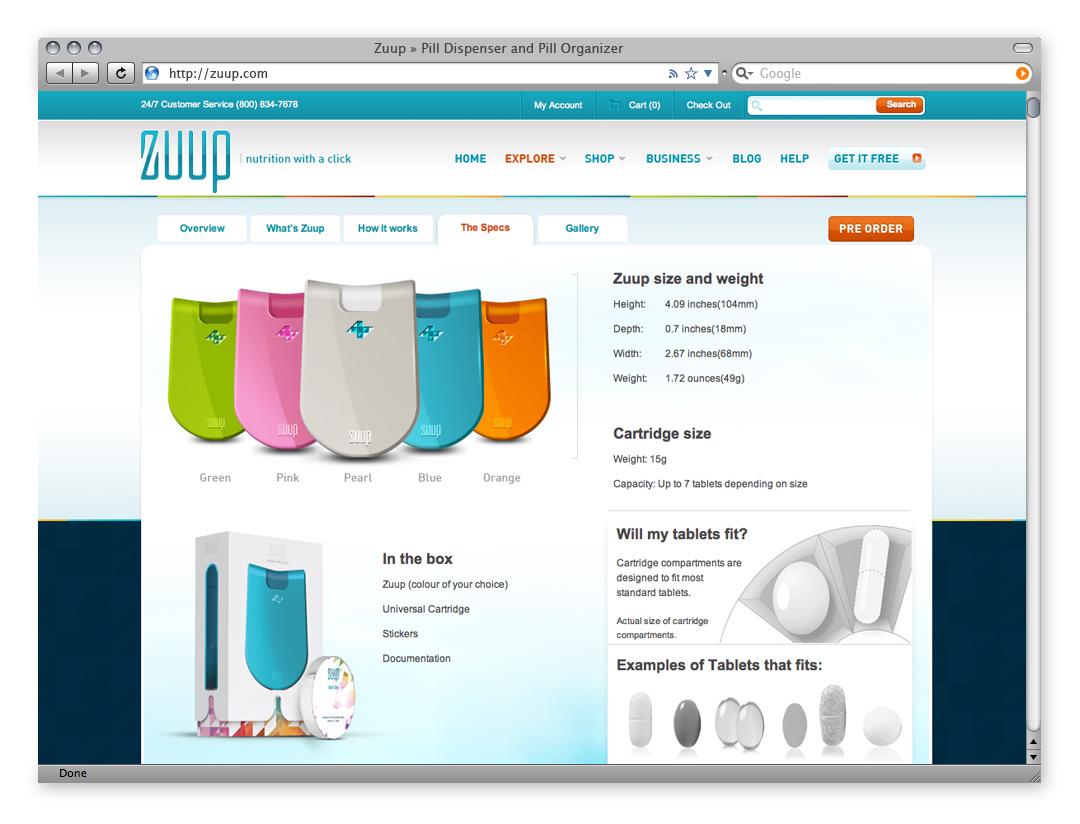 Zuup Web4