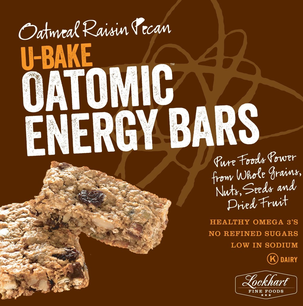 Oatomic Energy Bars - Now available in the cooler section of all Midwest area Costcos.