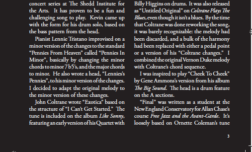 North by Northwest liner notes, page 2