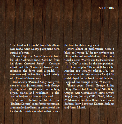 North by Northwest liner notes, page 3
