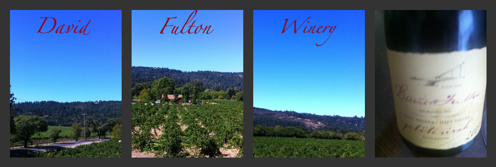 Here, at David Fulton Winery, we invite you to  fall in love  … with our Petite Sirah!   Our vineyard, originally planted in 1860 by my great-grandfather, produces less than 400 cases of  Petite Sirah  a year.