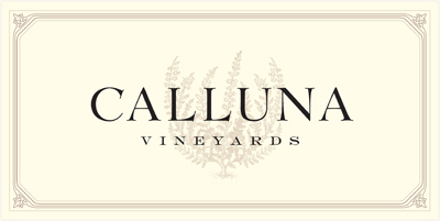 Calluna Vineyards is a beautiful property in the Chalk Hill appellation  of Sonoma County, near Healdsburg.  It is the culmination of a dream to  plant a vineyard of great potential on a site which is consistent with  my goals for winemaking.