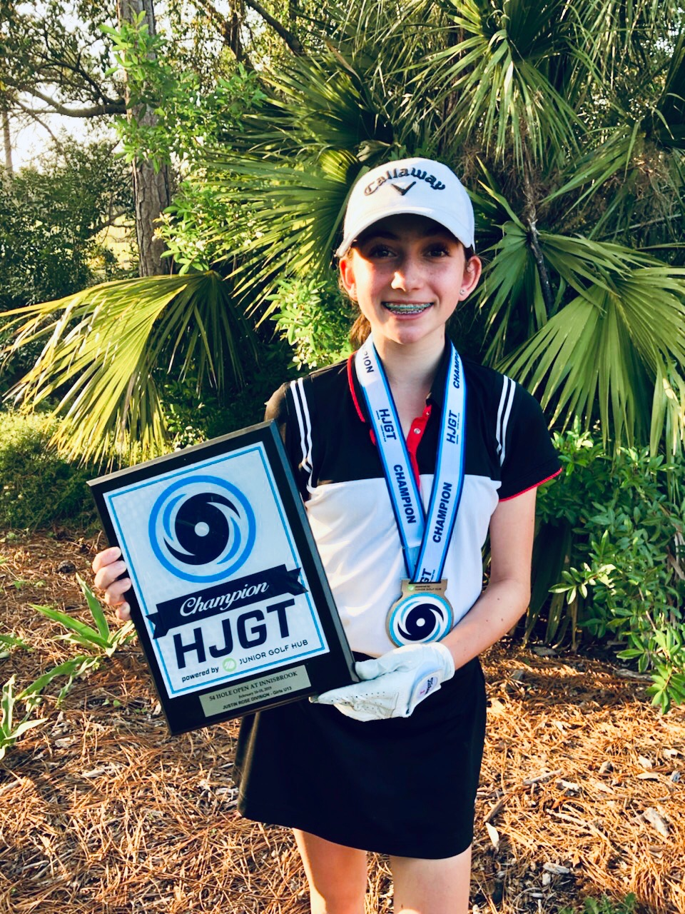 "Local golfing champ Nicole Criscone's 1st FL win! - ""Thank you Thor for making me a beast and earning my first Florida win!!!"" -Nicole"