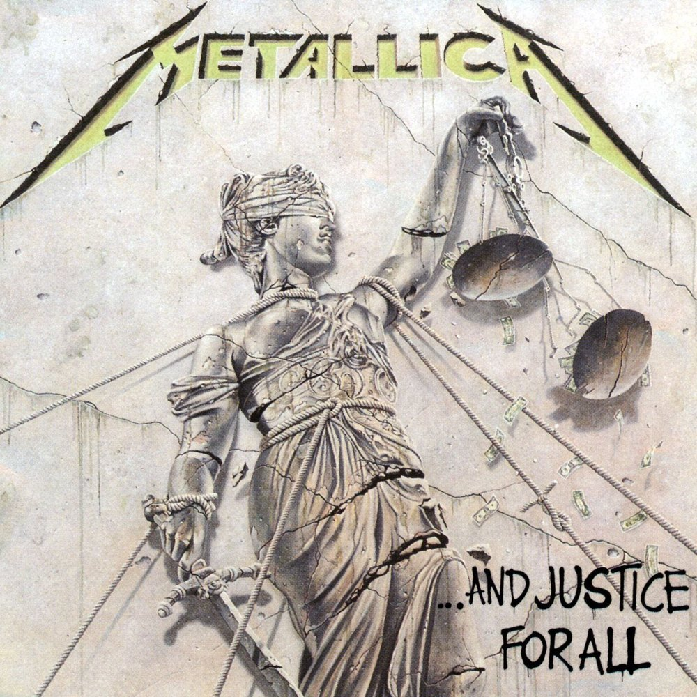 Artwork for Metallica's ...And Justice For All