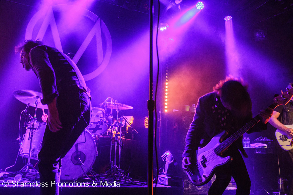 The Maine performing in San Francisco. April 2015. © Shameless Promotions & Media