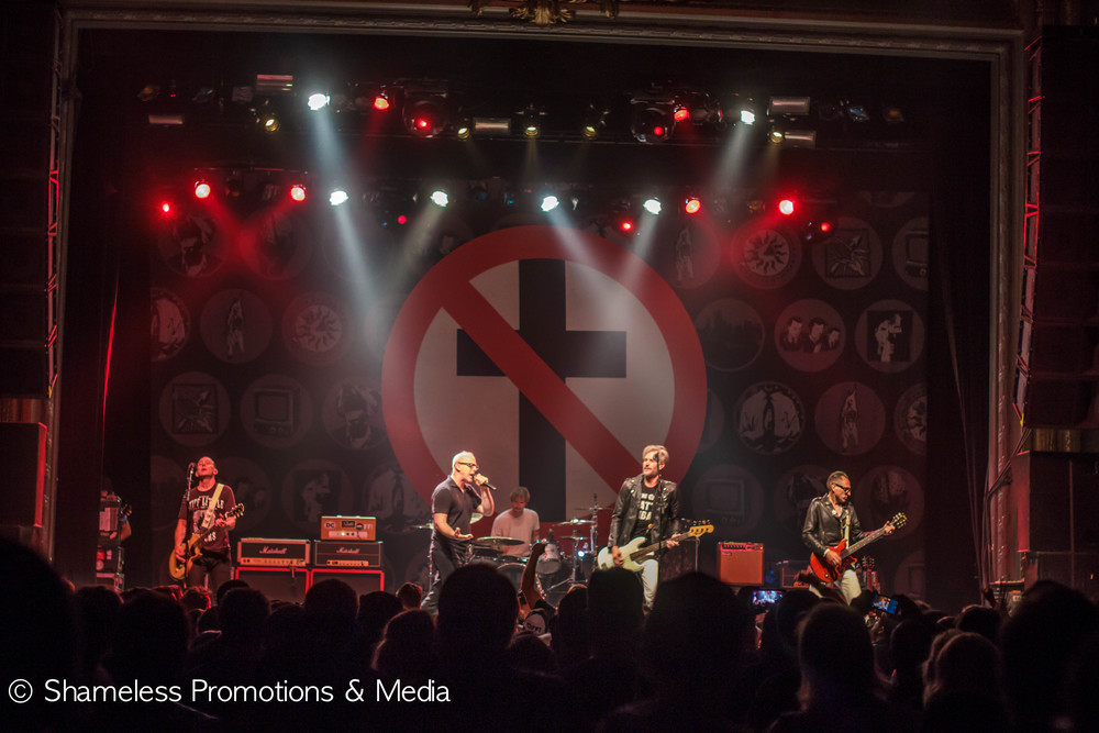Bad Religion at The Regency Ballroom in San Francisco. April 2015. © Shameless Promotions & Media.