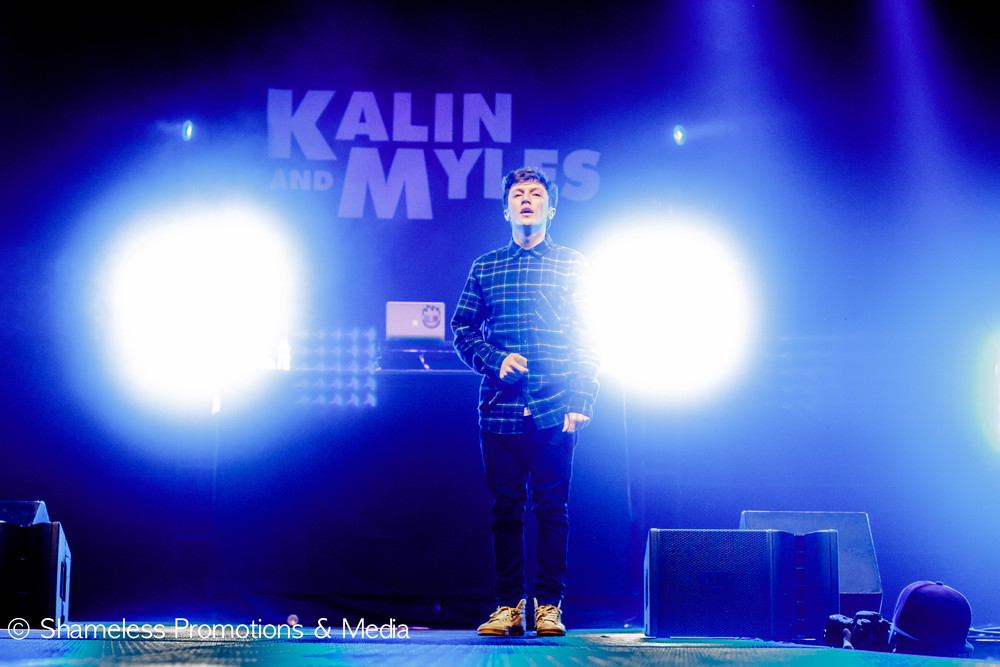 Myles Parrish of Kalin & Myles at SJSU Event Center. April 2015. © Shameless Promotions & Media.