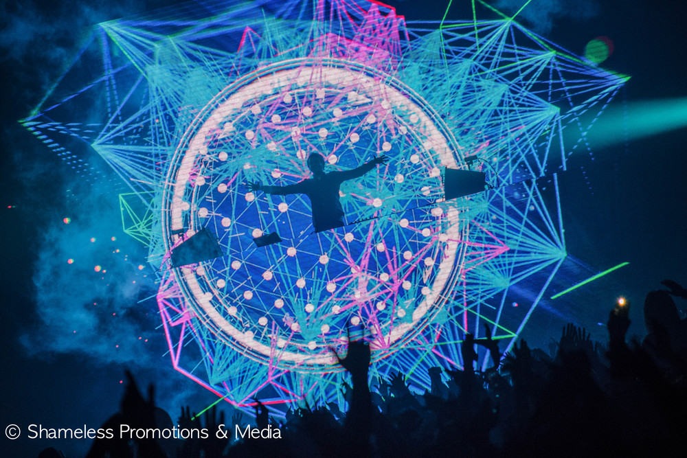 Zedd performing in March 2015 at SJSU Event Center. Photo by Jared Stossel.