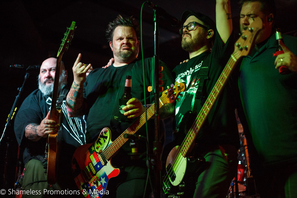 Bowling For Soup performing at Bottom of the Hill in San Francisco, CA. Photo by Jared Stossel.