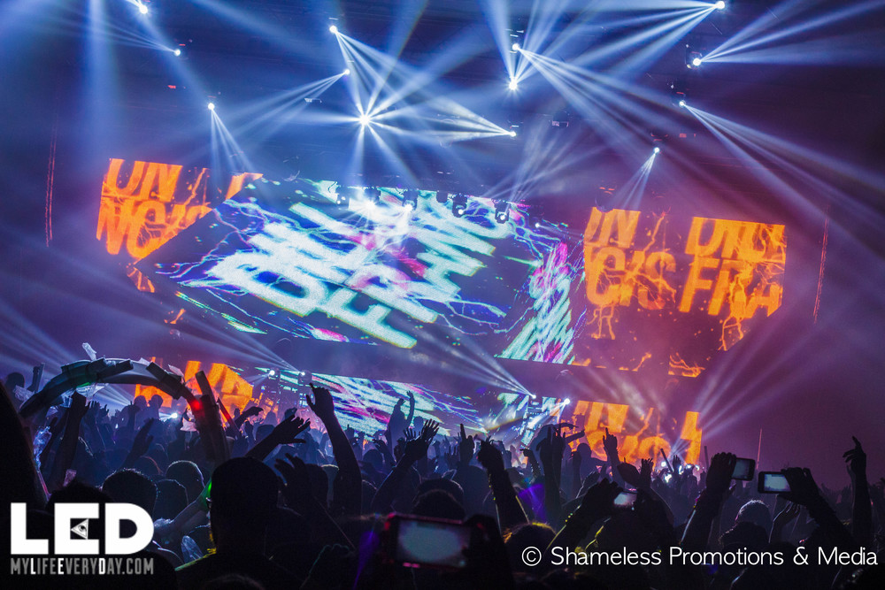 LEDxSJSU w/ Dillon Francis & Nero @ SJSU Event Center: April 2015