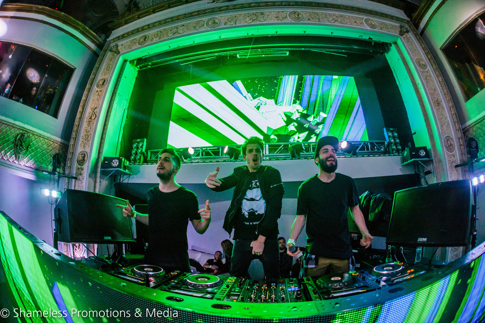 Cash Cash & Lil' Dicky @ Ruby Skye: February 2016