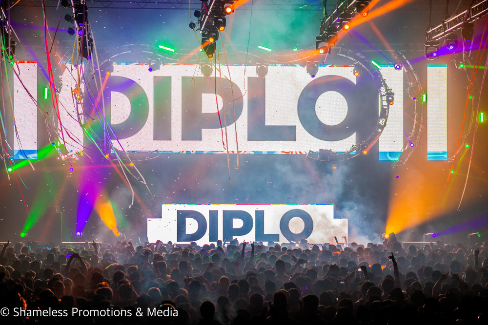 99.7 NOW EBH4 w/ Diplo, Dillon Francis, Cash Cash @ SJSU Event Center: March 2016