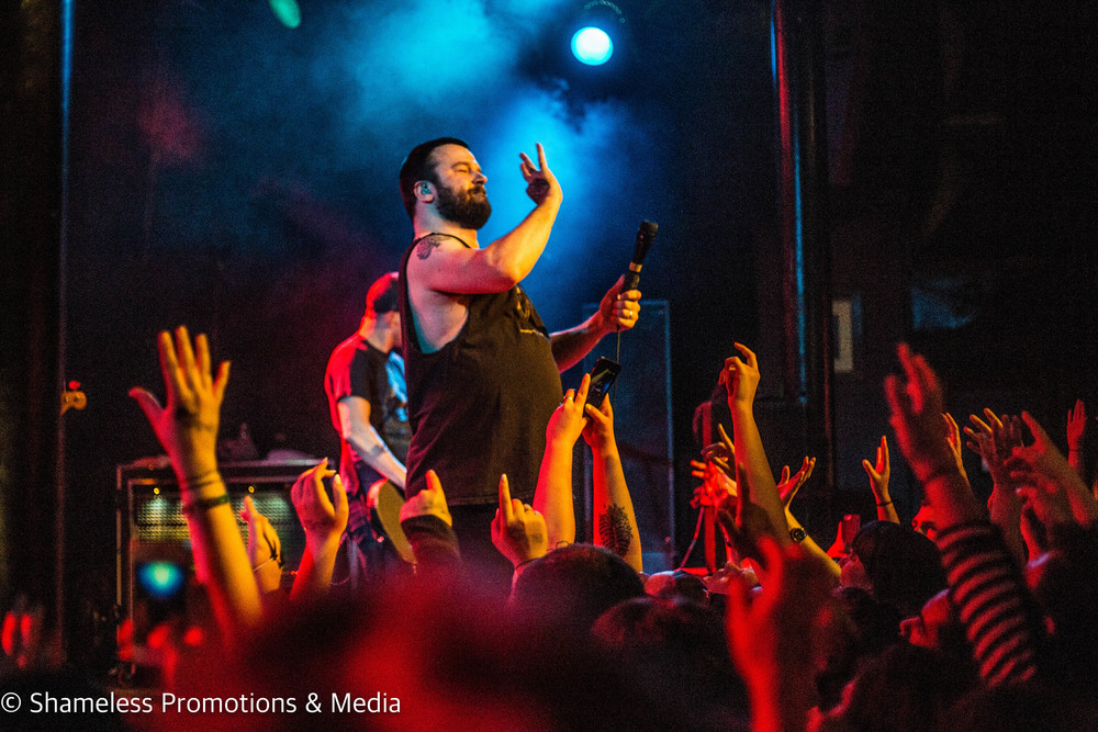 Max Bemis of Say Anything performing at Slims in San Francisco, CA. April 2016.