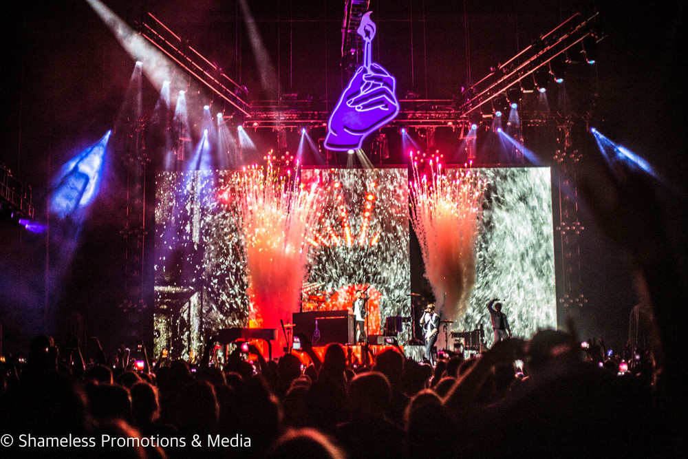 Macklemore & Ryan Lewis at Bill Graham Civic Auditorium in San Francisco, CA. Photo: Jared Stossel.