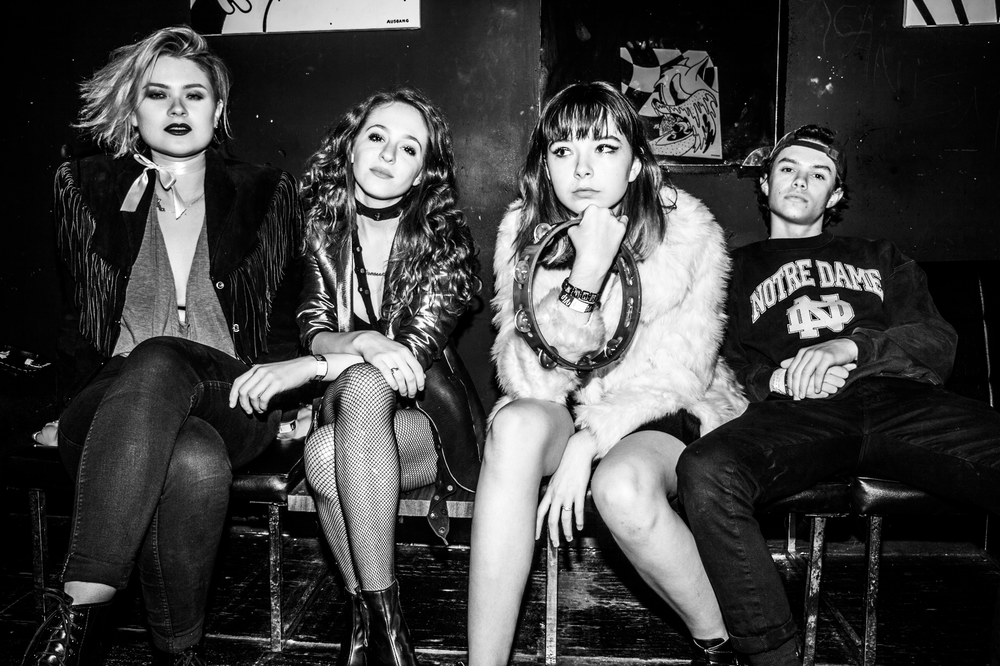 The Regrettes. Photo: Jen Rosenstein