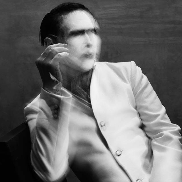 The album cover for Marilyn Manson's newest record,  The Pale Emperor .