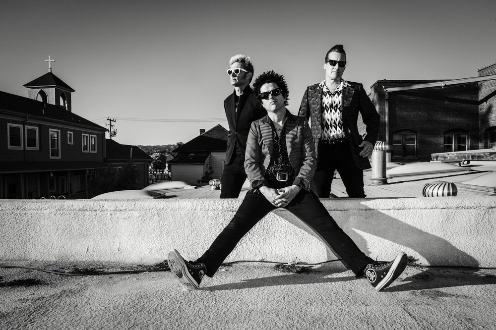 Green Day. Photo: Frank Maddocks