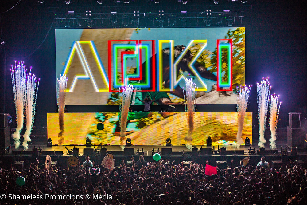 Steve Aoki @ Bill Graham Civic Auditorium: November 2016