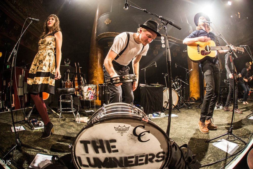 The Lumineers 'Live 105 30th Birthday' @ Great American Music Hall: December 2016