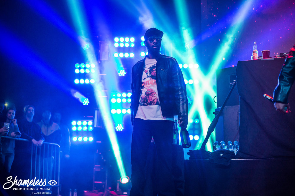 RZA of Wu-Tang Clan performing in San Francisco, CA at The Warfield. March 18, 2017. Photo Credit: Jared Stossel