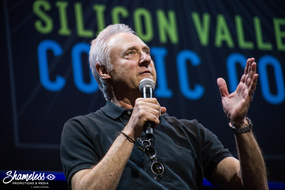 Brent Spiner appearing at the Star Trek: The Next Generation Panel at Silicon Valley Comic Con. April 22, 2017. Photo Credit: Jared Stossel