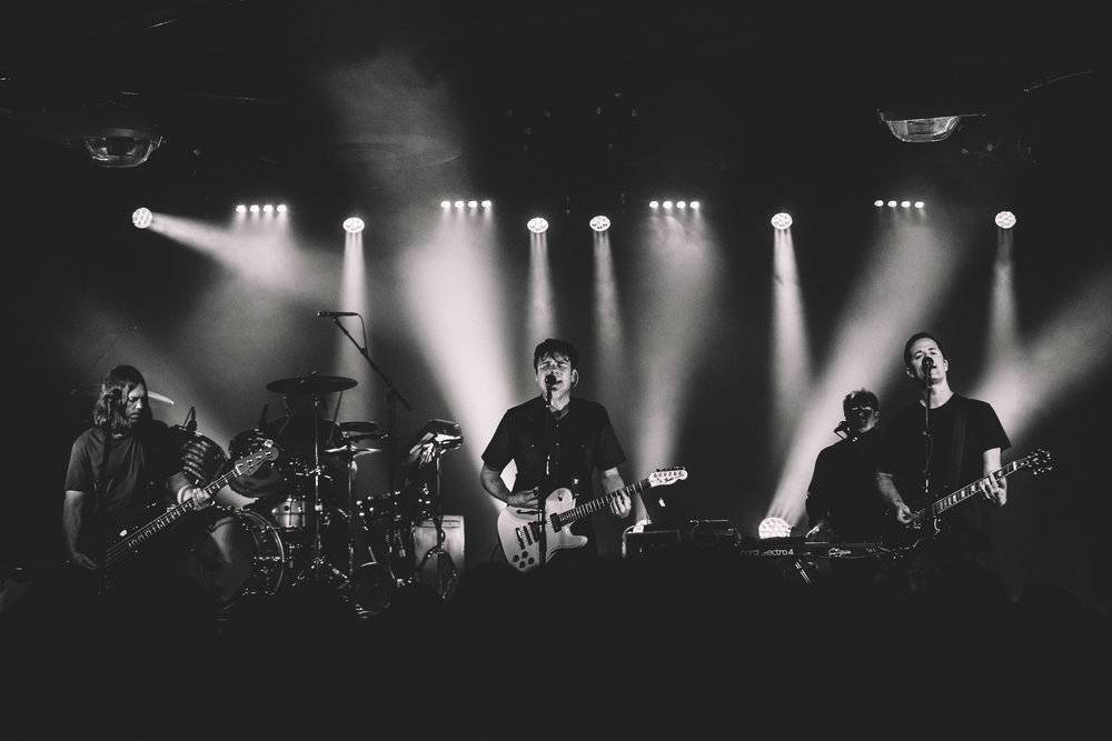Jimmy Eat World performing at Ace of Spades in Sacramento, CA. April 22, 2017. Photo Credit: Kyle Simmons.