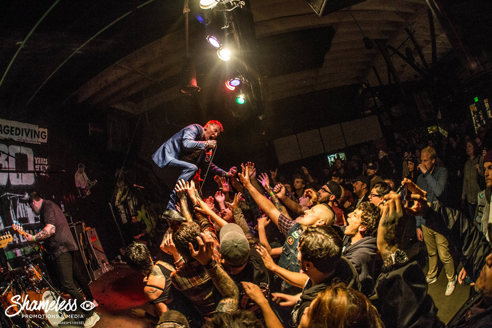 Frank Carter & The Rattlesnakes @ 924 Gilman Street: April 2017