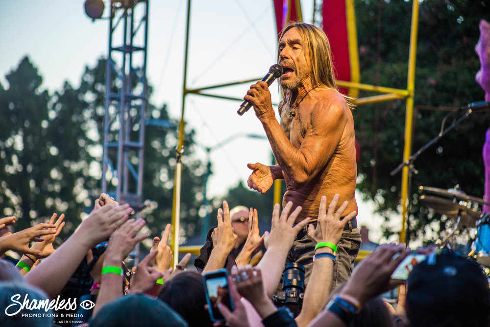 Burger Boogaloo 2017 w/ Iggy Pop @ Mosswood Park: July 2017