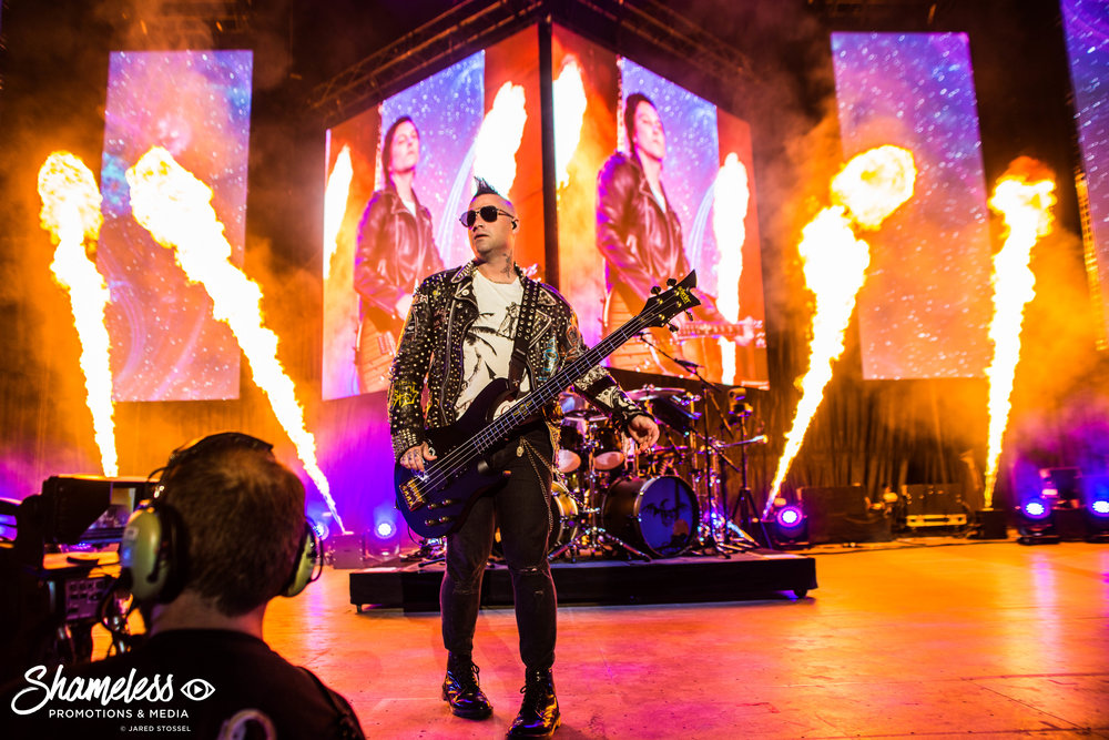 Avenged Sevenfold @ Shoreline Amphitheater: July 2017