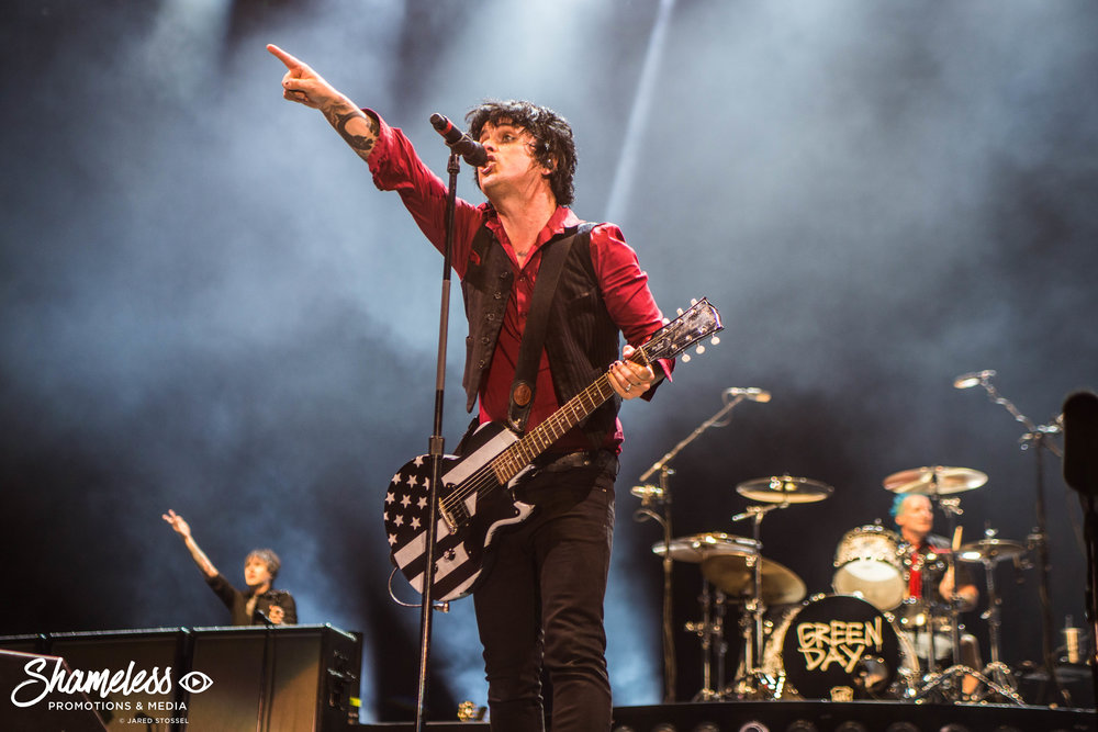 Green Day @ O.co Coliseum: August 2017