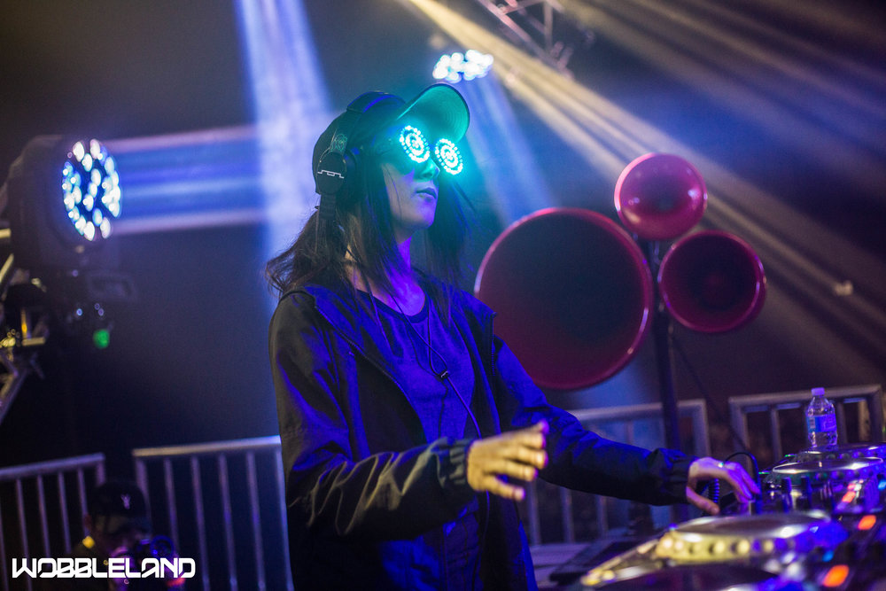 Rezz performing at Wobbleland 2017 in San Jose, CA. Photo: Jared Stossel