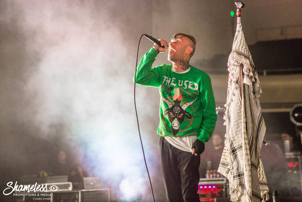 The Used @ The Masonic: October 2017