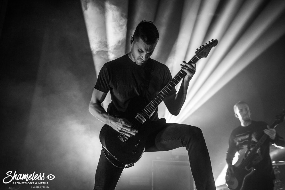 Architects performing at The Regency Ballroom in San Francisco, CA. March 6, 2018. Photo Credit: Jared Stossel