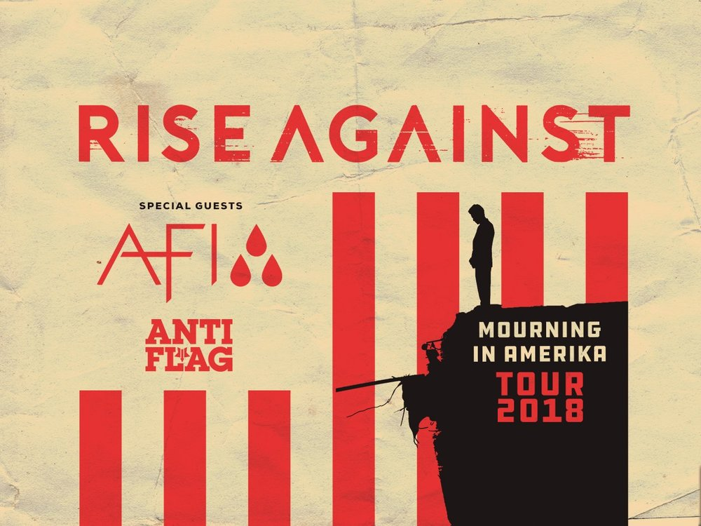 rise against announce mourning in amerika north american tour with