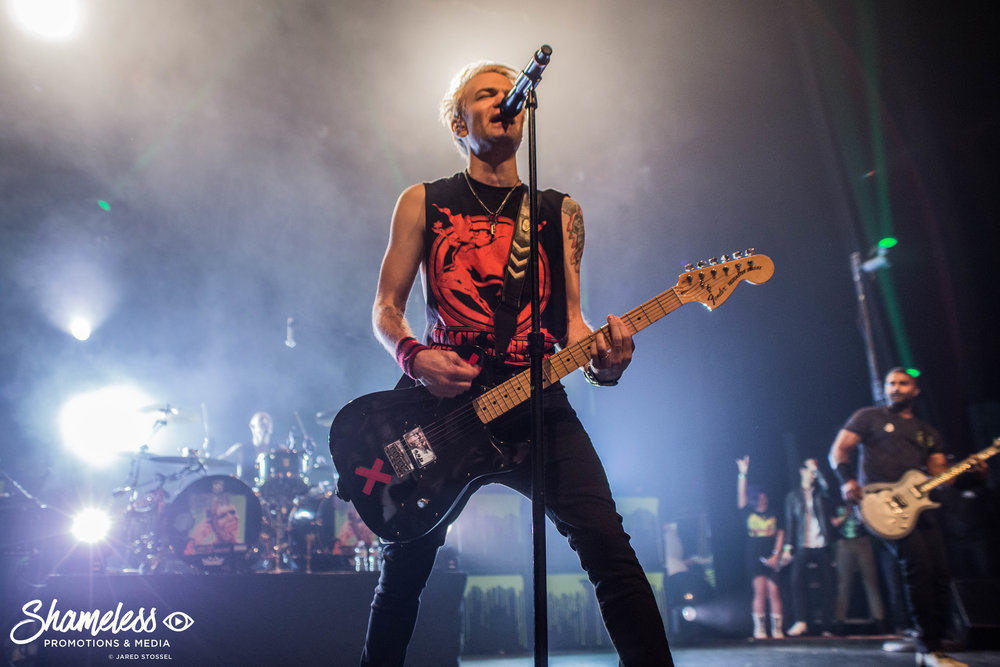Sum 41 'Does This Look Infected?' 15-Year Anniversary Tour @ The Warfield: April 2018