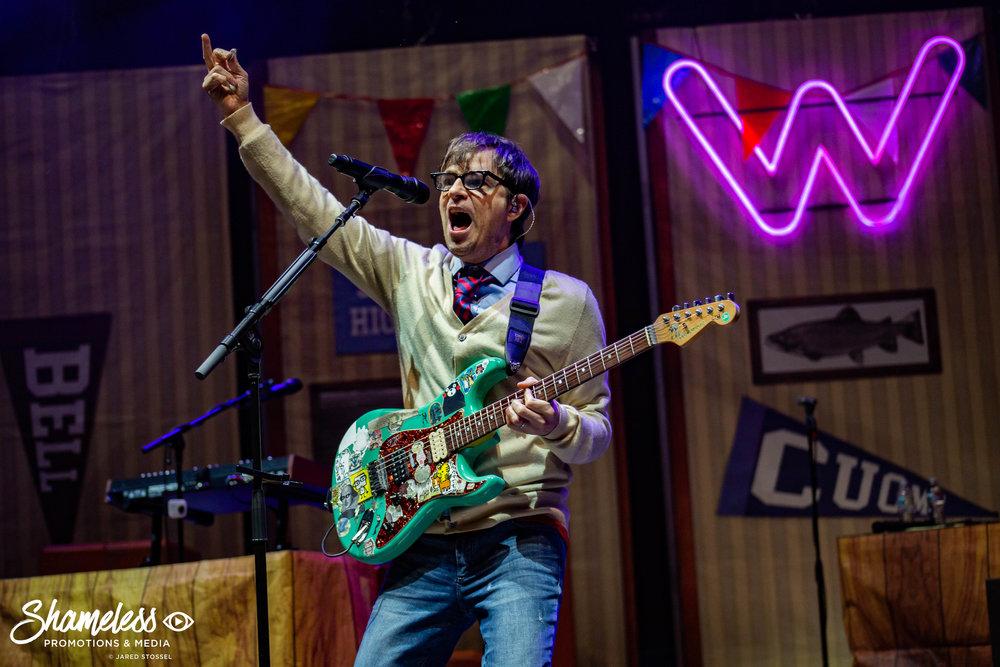 Weezer and Pixies @ Shoreline Amphitheatre: August 2018