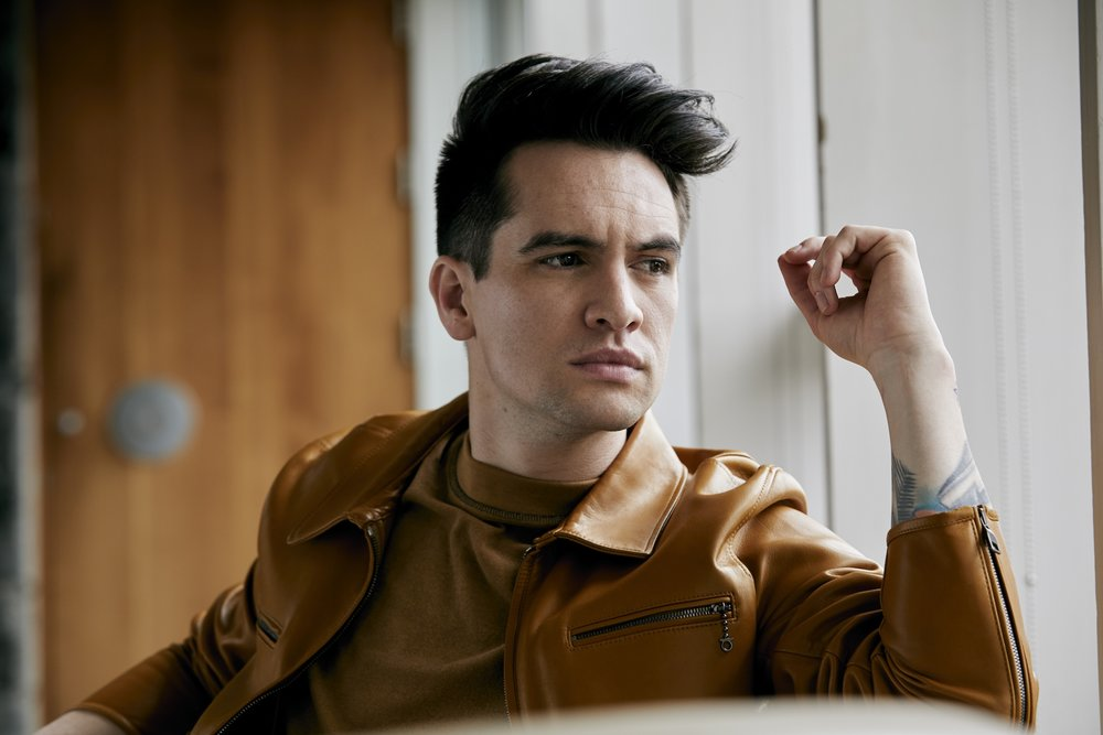 Brendon Urie of Panic! At The Disco. Photo Credit: Jimmy Fontaine.