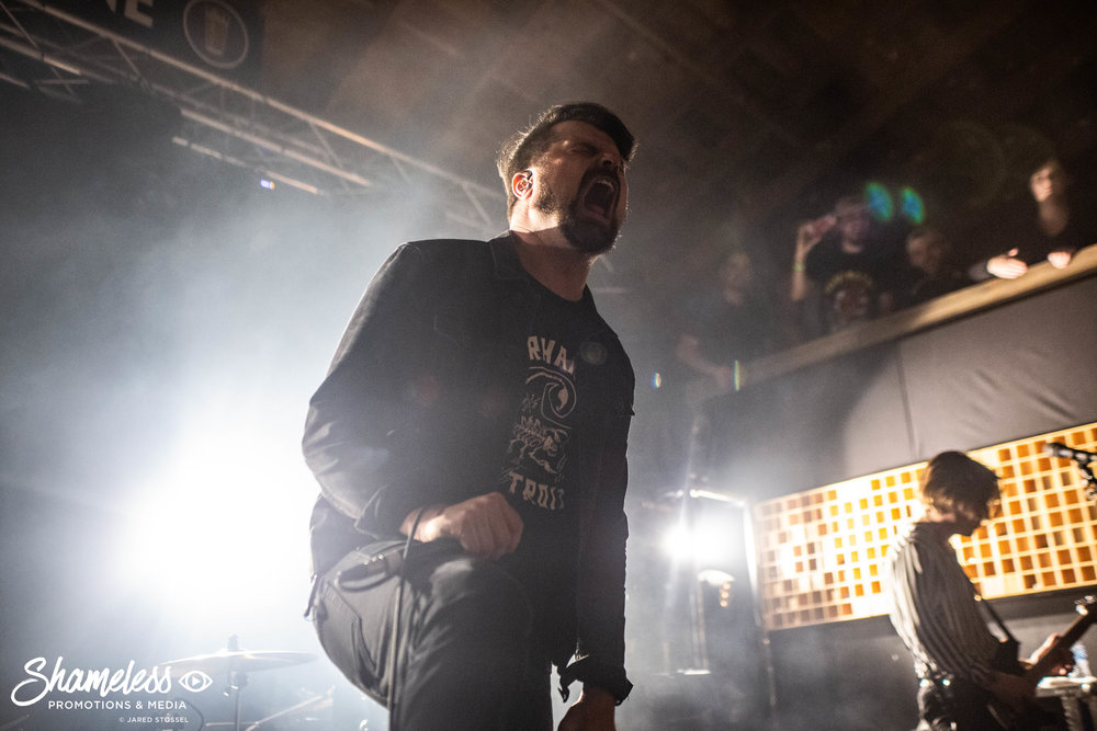 Shane Told of Silverstein performing at Cornerstone in Berkeley, CA. January 29, 2019. Photo Credit: Jared Stossel
